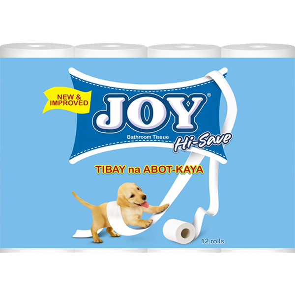 JOY HI-SAVE BT 170SHT 2PLY 12ROLLS