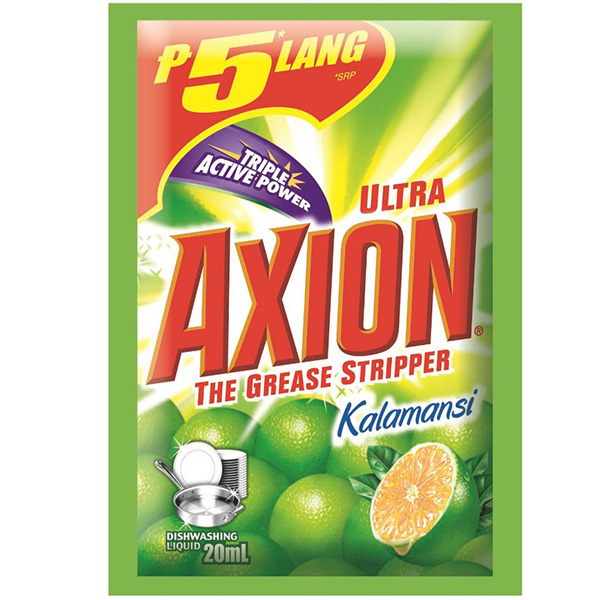 Axion Dishwashing Liquid Lime/Kalamansi Sachet Refill 20ml